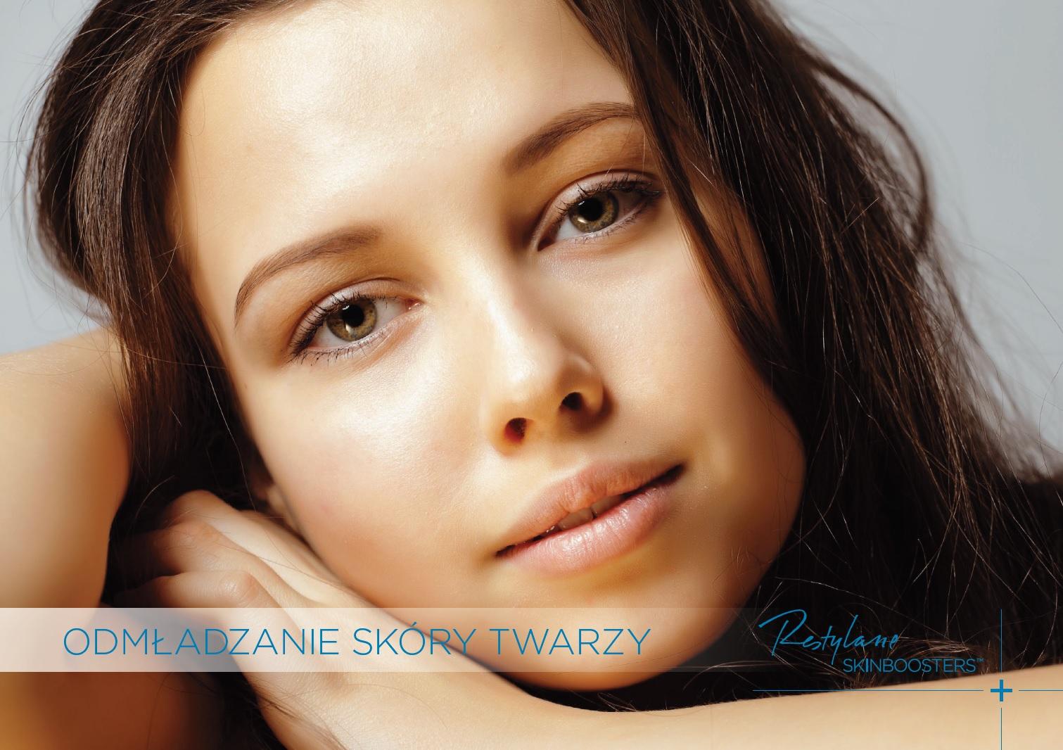 Odmładzanie skóry twarzy - Restylane SkinBoosters