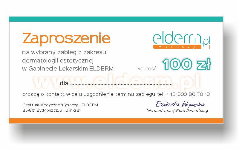 Bon Zaproszenie ELDERM